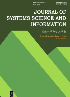 Journal of Systems Science and Information杂志