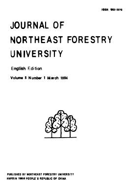 《Journal of Northeast Forestry University》1994年01期