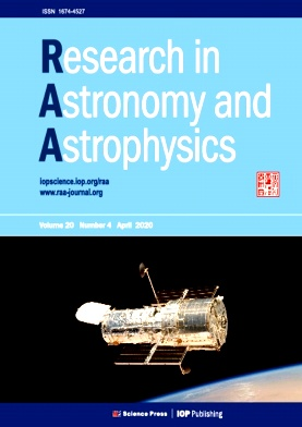 《Research in Astronomy and Astrophysics》2020年04期