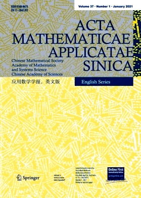 Acta Mathematicae Applicatae Sinica