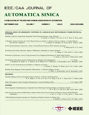 《IEEE/CAA Journal of Automatica Sinica》2020年05期